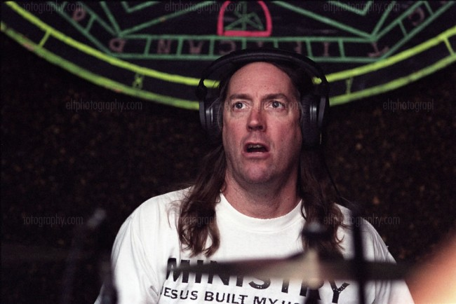 Danny Carey from TOOL rehearsing with VOLTO for their album GRIP IT